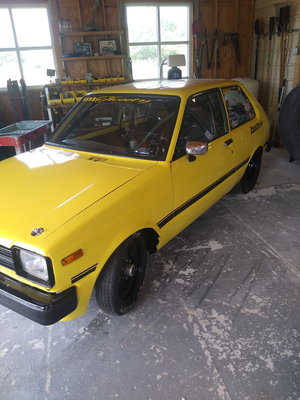 Toyota starlet 3/4 chassis