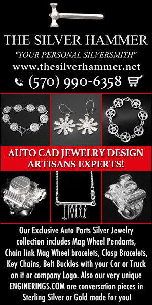 AUTO PARTS JEWELRY / SILVERHAMMER 6 Months Special Financing