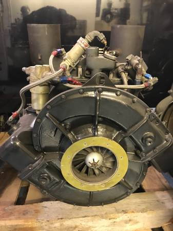 Boeing 502 Jet Turbine Turboshaft Engine with rare dual exha  for Sale $6,000