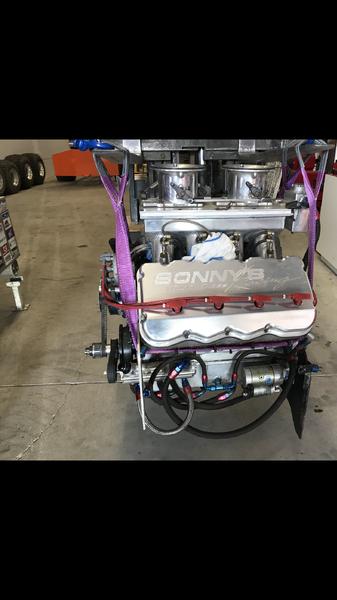 648 C.I. SONNYS PULLING 4X4 PRO MOD ENGINE