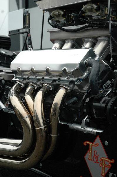 632 Chevrolet; Mullis 245 inch Dragster  for Sale $60,000