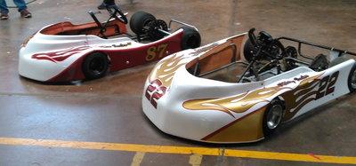 2009 PHANTOM PHENOM & 2013 Phantom Triton Racing Kart- R