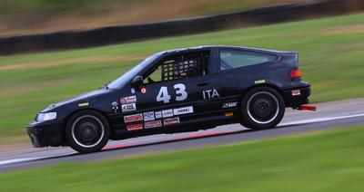 1989 Honda CRX si ITA Race Car with Spare Car