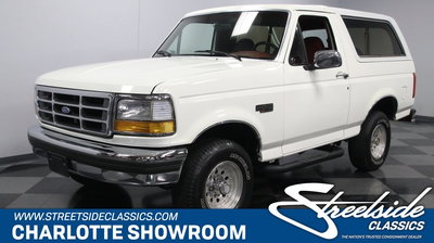1992 Ford Bronco XLT 4X4 for sale in CONCORD, NC, Price: $17,995
