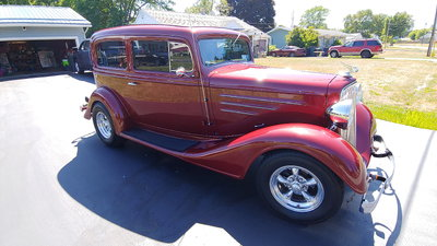 1934 CHEVROLET TRADES WELCOME WHATCHA GOT