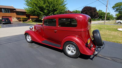 1934 CHEVROLET STREETROD TRADES WELCOME