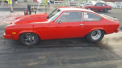 1977 chevy Vega (8 second car)