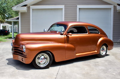 1947 Chevrolet Fleetline Aero Sedan Resto-Mod