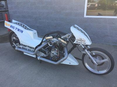 Harley Nitro Drag Bike Pro Fuel