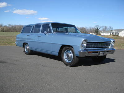 1966 Chevy Nova Wagon Custom