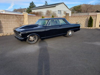 1963 Nova turbo ls
