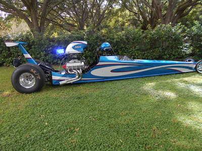 2014 MULLIS 4 LINK DRAGSTER ROLLING CHASSIS