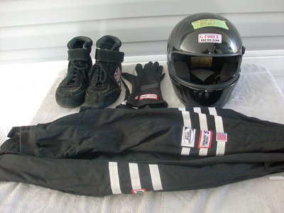 fire jacket,gloves,shoes,helmet,collar