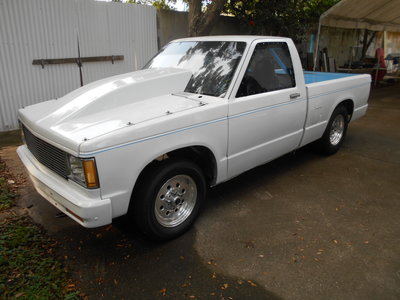82 S10 DRAG RACE ROLLING CHASSIS W/ TITLE