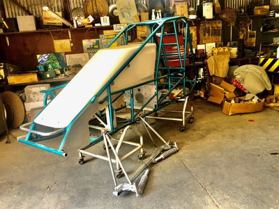 Pavement Chassis, Steering, Front End