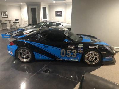 Porsche Cayman Interseries Race Car