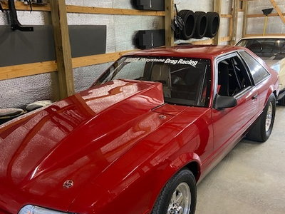 1990 Mustang Big Block Drag Car Turn Key!
