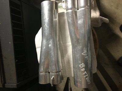 """Sbc header collectors 1 3/4 X3"""" ceramic coated NHRA IH"""