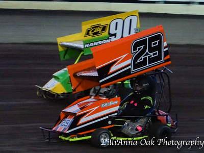 2 qrc outlaw wing karts