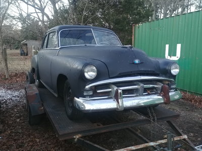 1951 Plymouth Deluxe
