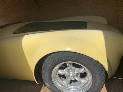 1966 Cobra unbuilt kit