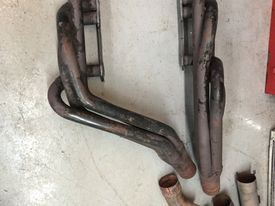 SBC cross over headers and exhaust piping