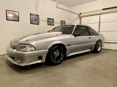 1993 ALL Ford Foxbody Mustang GT RACE CAR