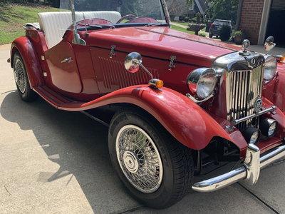 1936 MG TA Drophead