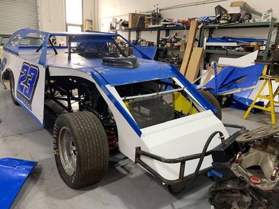 2017 IMCA Dirt Modified Harris Chassis 2018 Championship Car