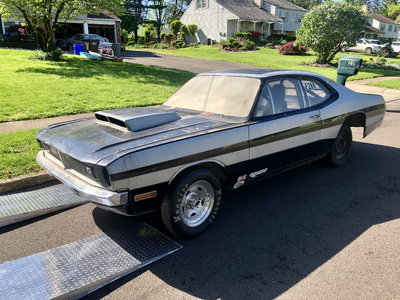 1972 Dodge demon roller