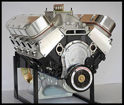 Chevy BBC 632 Stage 10.5 PRO STREET Engine AFR HEADS DART Bl