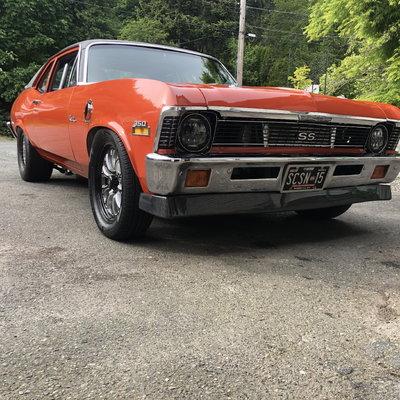 1972 nova ss turbo ls