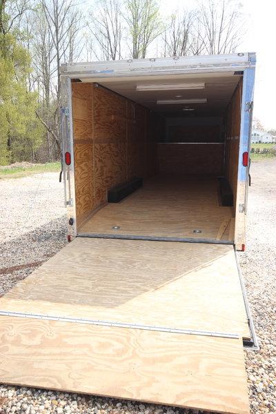 2018 Cargo Mate Eliminator 36ft w/ 6,000lb Axles Enclosed Ca