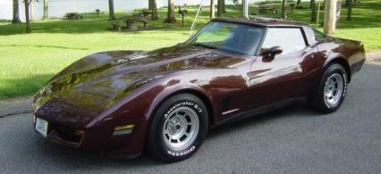 1981 CHEVROLET CORVETTE  for Sale $12,900