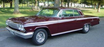 1962 CHEVROLET IMPALA  for Sale $22,900