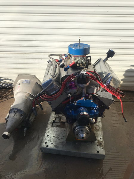 557cid Ford Stroker Complete Engine to Trans Combo  for Sale $18,000