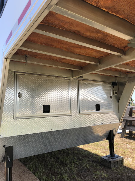 Move up to ATC; 50' Car Hauler with Custom Living Quarters  for Sale $45,500
