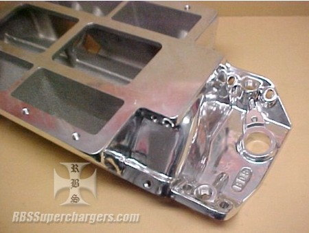 BBC BDS Competition Std. Deck Blower Manifold Polished  for Sale $795