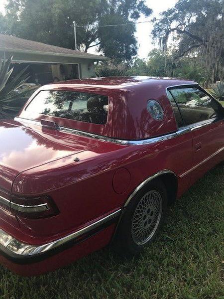 1989 CHRYSLER TC  for Sale $18,049