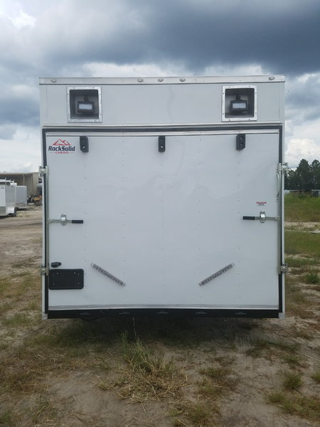 8.5x28TA White Racing Trailer  for Sale $16,299