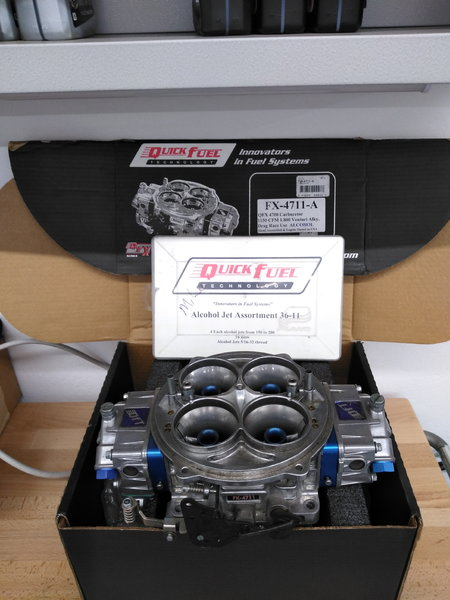 Quick fuel FX-4711-A with jet kit  for Sale $800