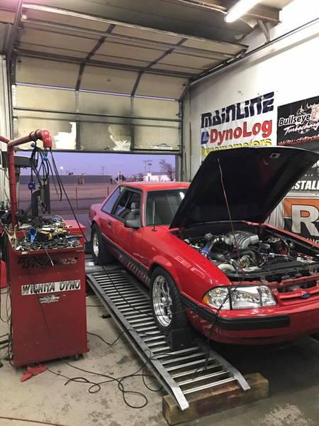 1991 Mustang lx Precision turbo 842rwhp