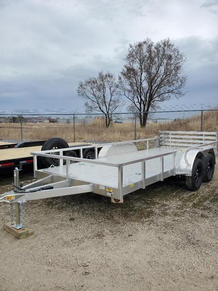 IN STOCK NOW 80x16+ aluminum utility ATV UTV tandem axle tra