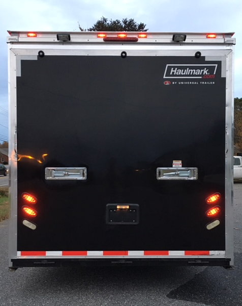 28' Haulmark Edge Race Trailer Loaded With Extras - $16,900  for Sale $16,900