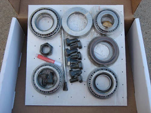 GM 8.6 10 Bolt POSI - GEARS - BEARING KIT PACKAGE  for Sale $500