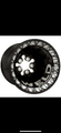 WTB (1) Black Weld Delta wheel