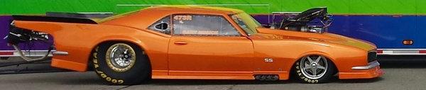 Jeffers Race Cars- 68 Camaro  for Sale $75,000