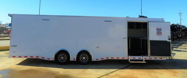 "2019 BRAVO 102"" X 28' CAR / RACING TRAILER"