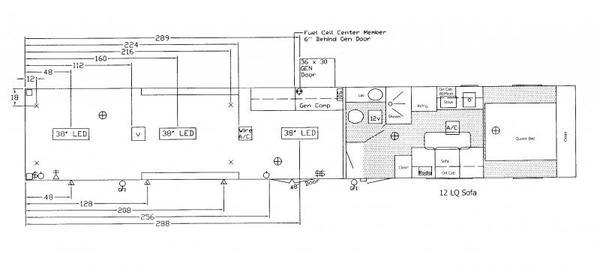 READY 2020 48' Millennium 12'S + 8' Living Quarter