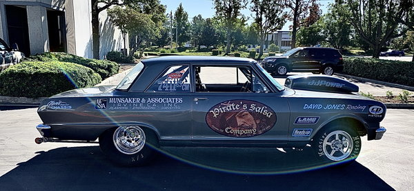 1964 CHEV II SUPER STOCK ROLLER  for Sale $28,000